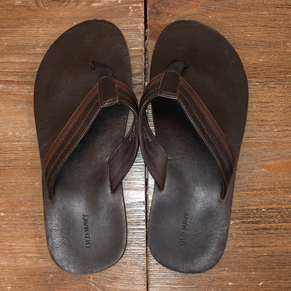 Old Navy Shoes | Boys Faux Leather Flip